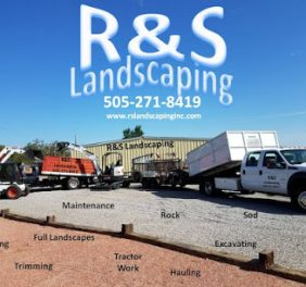 R&S Landscaping...